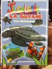 Edition orphie,Je colorie les animaux de Guyane